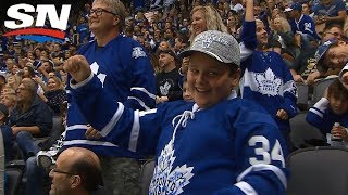 Maple Leafs Score Twice In 23 Seconds Against Sabres In Pre-season