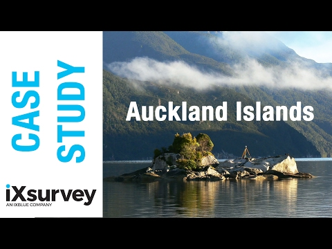 Case Study: Surveying the Auckland Islands // IXBLUE // Marine Survey Specialists