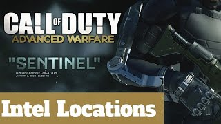 Mission 8 Sentinel - All Intel Locations - Call of Duty: Advanced Warfare