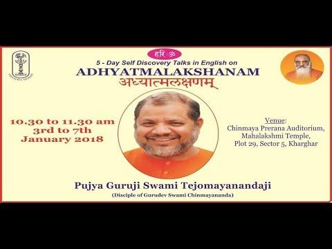 Adhyatmalakshan Talk 1