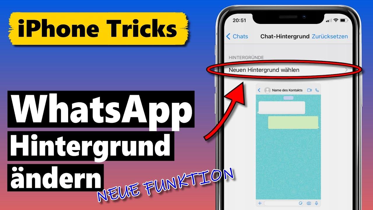 WhatsApp Hintergrund für einzelne Chats ändern 🤩 (NEUE Funktion)