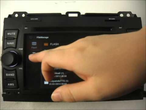 Toyota Prado Land Cruiser 120 2002-2009 Android Auto Radio DVD GPS Wifi