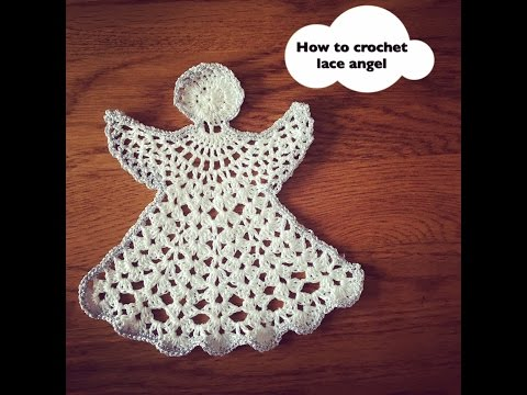 How to crochet lace angel