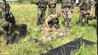 Video z výcviku 171. pěší roty AZ KVV Plzeň