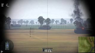 War Thunder T32 defualt ammo vs maus test 2