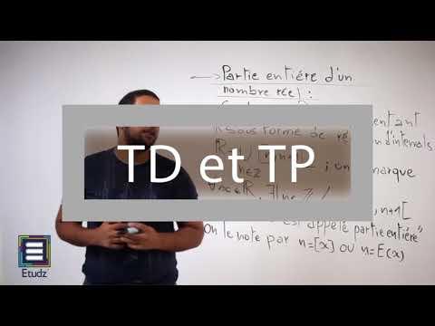 Cours d'université en ligne Etudz (Alternative d'Exo7 en Algérie)