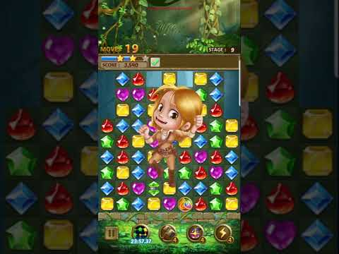 Jewels Jungle 2018Android Gameplay