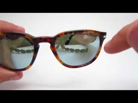 bfc2768e32d Persol PO 3019S 108 30 Caffe Sunglasses Review - YouTube