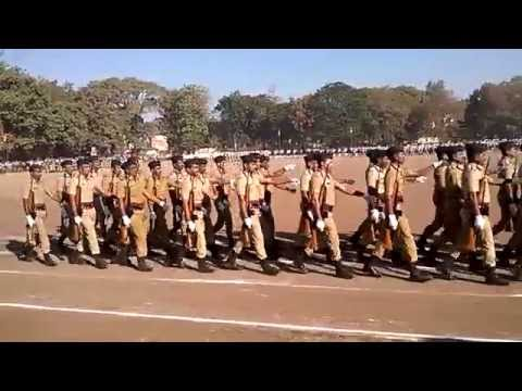 Police training school , dhule  passing out parad 2016
