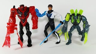 Max Steel Action Figures Toxzon and Dredd