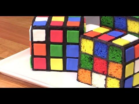 delicious recipe of rubik s cube cake youtube