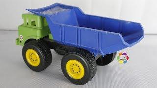 لعبة عربية الزبالة الحقيقية للاطفال والعاب السيارات للاولاد والبنات real trash tipper car toy game