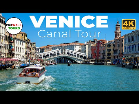 Venice, Italy Canal Tour - Beautiful Scenery