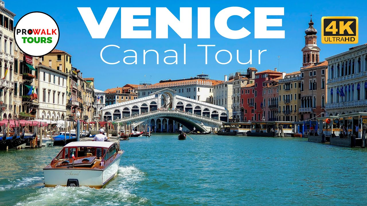 A Relaxing 3-Hour Tour of Venice's Canals