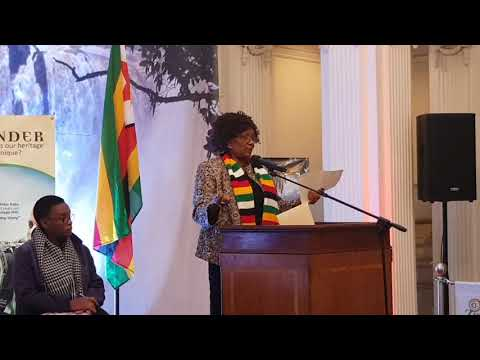 Tourism Minister Mupfumira in London