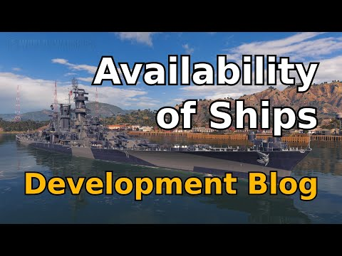 Availability of Ship to Purchase (World of Warships Development Blog #95)
