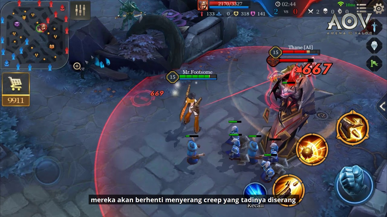 Garena Aov Arena Of Valor Beginners Guide An Introduction To Towers
