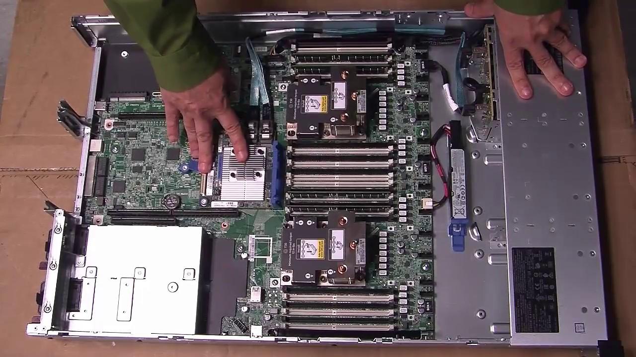 HP ProLiant DL380 Gen10 XEON-S 4108 Server