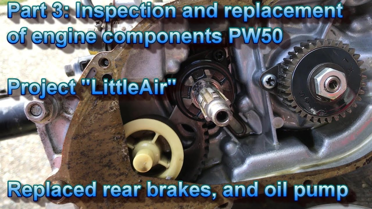 Repeat Part 3: 1983 Yamaha PW 50 Engine component inspection