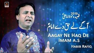 Qasida Mola Ali A.s - Aagay Ne Haq De Imam a.s - Habib Rafiq - 2019