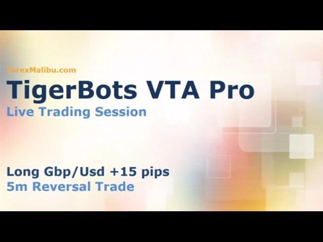 VTA PRO Forex Day Trading Software – Live Reversal Trade +15 pips!