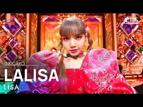 LISA() - LALISA @ inkigayo 20210919