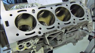 Mercedes Benz AMG 63 V8 Engine Production thumbnail