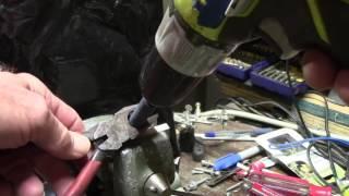 Wire cutter    lineman    sharpening