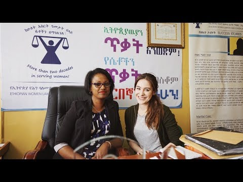 Faces2Hearts | Ethiopian Women Lawyers Association - Sabina Trojanova