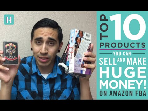 Top 10 Products That Will Make You HUGE MONEY on AMAZON FBA in 2015!