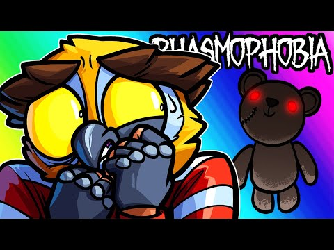 Phasmophobia Funny Moments - Teddy Bear and Girlfriend Attacks!