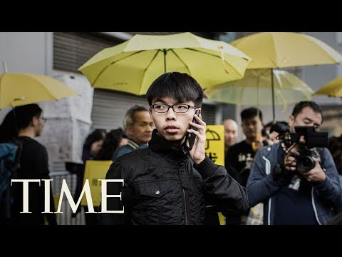 Hong Kong Activist Joshua Wong Jailed Along With Other Umbrella Revolution Leaders | TIME