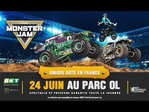 Monster jam Lyon 2017