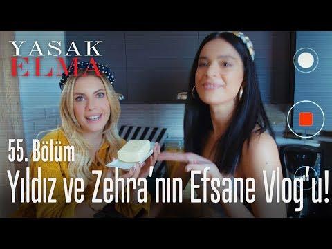 Zehra'nın YouTube Kanalına Video çekiyorlar - Yasak Elma 55. Bölüm