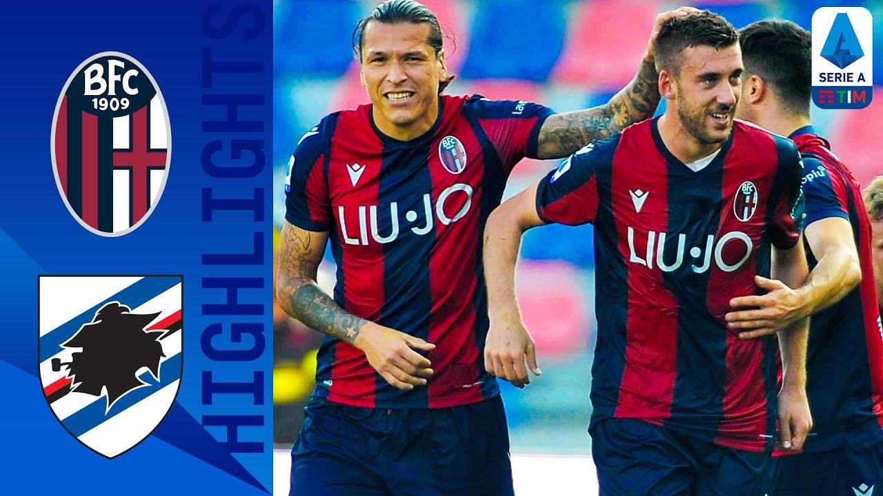 Bologna 2 1 Sampdoria Palacio And Bani Score To Give Bologna The Win Serie A Youtube
