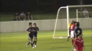 2013 豊田国際ユース(U16) 日本vsクウェート 杉森考起のゴール(日本代表3点目)