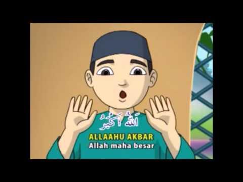 Shalat 4 Raka'at (Zhuhur, Ashar, dan Isya - Bacaan & Gerakan - Audio Visual)