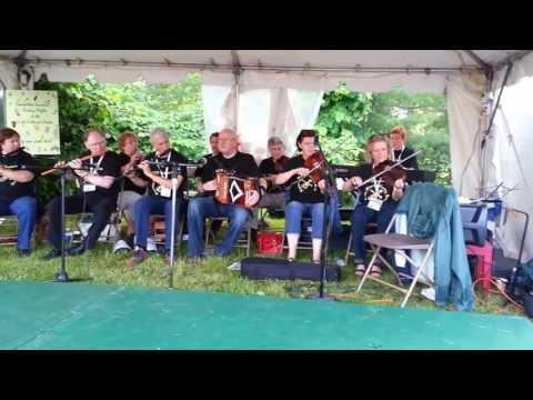 Boston Comhaltas Music School Ceili Band at the Boston Irish Festival 2013
