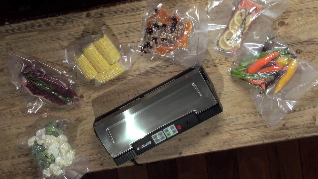 Вакуумный упаковщик для овощей