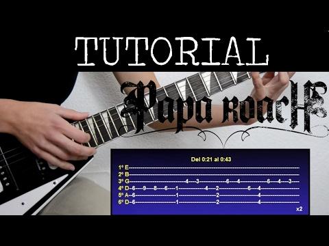 Cómo tocar Scars de Papa roach (Tutorial de Guitarra) / How to play