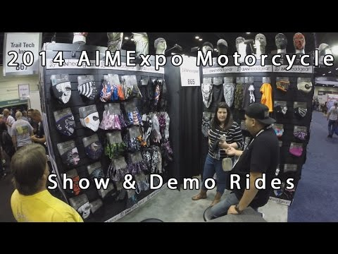 2014 AIMExpo Show Demo Motorcycle Rides And Trade Show