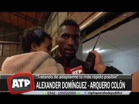 ALEXANDER DOMINGUEZ  - CLUB COLÓN - ATP  22 09 17