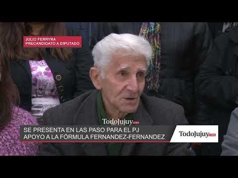 Julio Ferreyra: La justicia tiene que ser quien defina la culpabilidad o no de Cristina