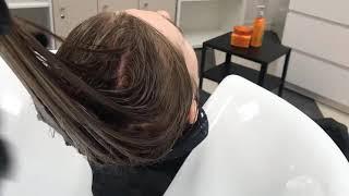Как правильно мыть волосы уход за сухим блондом