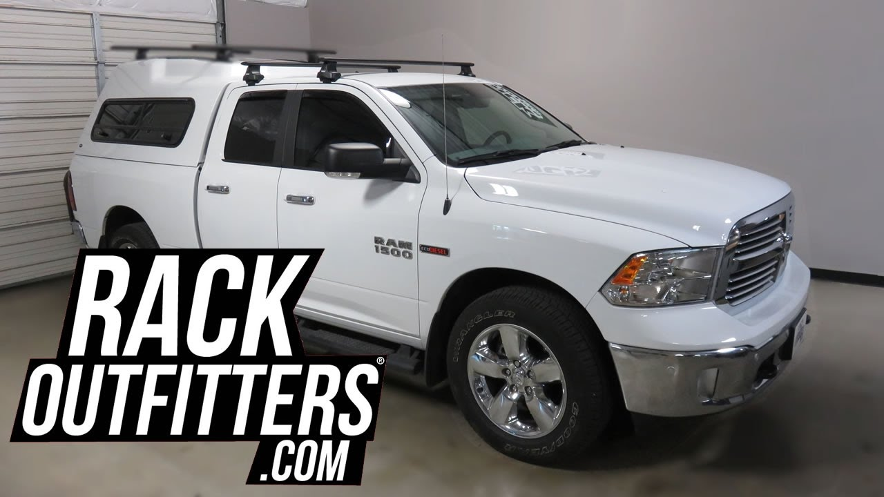 Ram 1500 Quad Cab Truck With Thule AeroBlade Roof Rack Crossbars   YouTube