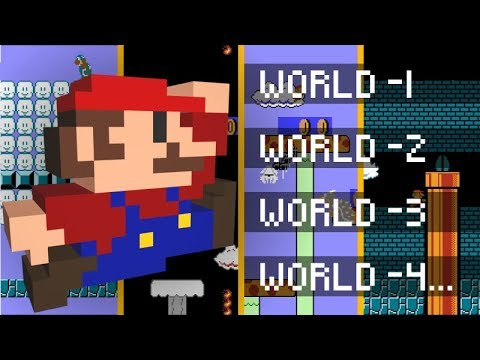 What's in all 248 Minus Worlds of Super Mario Bros?