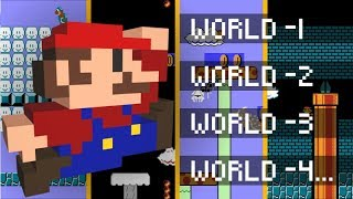 What's in all 248 Minus Worlds of Super Mario Bros? - 検索動画 19