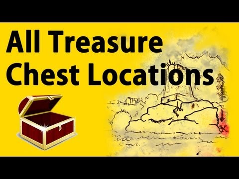 Skyrim All Treasure Map Chest Locations