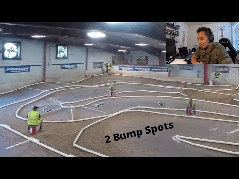 Intense 3 Car Battle B-Main Bump RC Car Racing