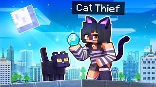 Playing Minecraft As A MASTER CAT Thief!